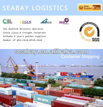 Sea shipping forwarder to UK/Singapore/Russia/Canada/Mexico/USA from China