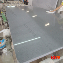 poly resin artificial marble , glacier white quartz stone , construction material quartz stone sheets