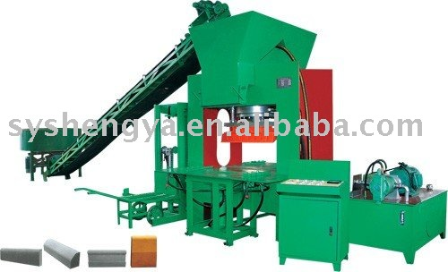 SY3000 block machine, curb stone making machine