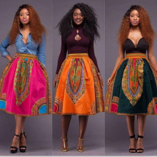 X61622A Lady pretty batik clothes Summer style Woman Africa skirt