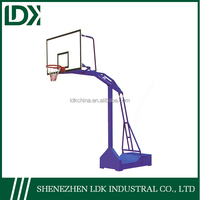 Hot fitness and recreational facility basketball stand with stainless steel