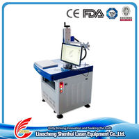 Manufacturer acrylic pendant 10w 20w portable metal mini fiber color laser marking machine SH-K10