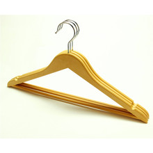 E-18 Hot Sale Wood-like Plastic Coat Hanger