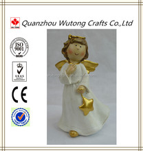 2015 New Designs Souvenir Decoration Resin Wings Angel