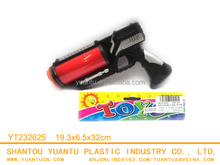 Funny plastic toy guns b/o toy gun with light and music gun toy