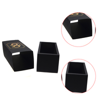 Custom printed gift boxes gold stamping paper gift box luxury precious coins packaging box