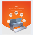 FRD-Brand new chicken treadle feeder poultry no waste feeding massive capacity