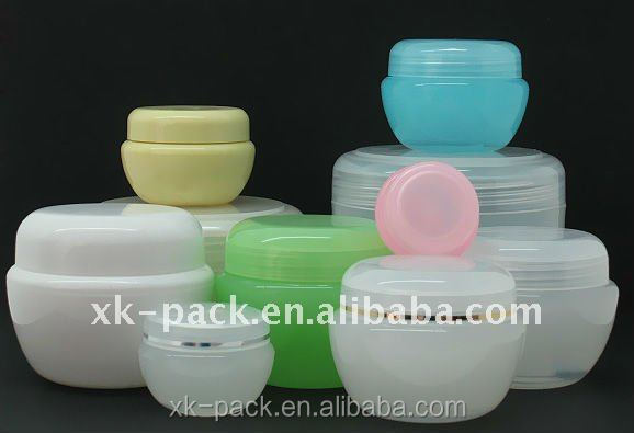 Hot Sale Colorful PP Plastic Empty Jars Face Mask PP Recycled Container Plastic Cosmetic Jars
