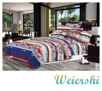 Printed Bear 100% Polyester Disperse Printed Brushed Fabric 3D Bedding Sets Wholesale