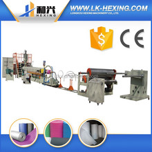 single screw pe foam sheet plastic extruder