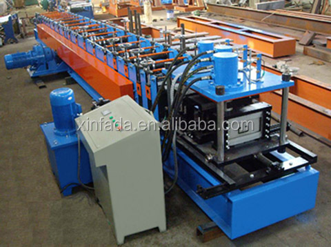 Steel C Channel Roll Forming Machine with Hydraulic Die Cutting