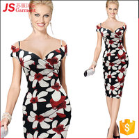 JS 20 In Stock Amazon Western Fashion Lady Adult Sexy Mature Women Dresses 730