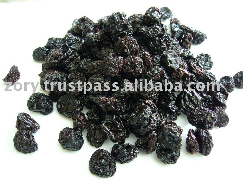 Dried ORGANIC sweet cherries without pits