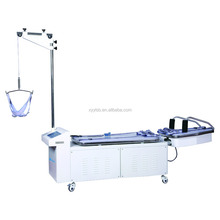Orthopedic lumbar and cervical traction table