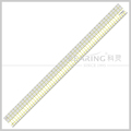 "Shanghai kearing 3mm thickness quilting ruler with 24""*2"" for dress making # KPR2402"