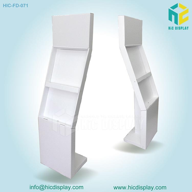 Cardboard photo exhibition stands display ,photo album display stand