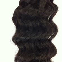 Wholesale grade 7a high quality 100 remy hair extension premium blend hair weave