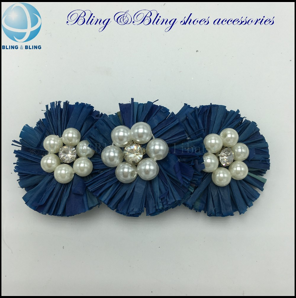 Decorative Shoe Bows and Buckles for Women Shoe fabric flowers