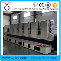 CE Certified UV Drying System UV Exposure System UV Curing Machine For Komori Offset Printer L40