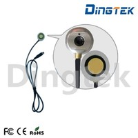 F500 digital rs232 rs485 ultrasonic water flow sensor/water tank level monitoring device high resolution