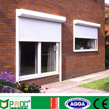 Cheap house aluminum rolling shutter window for sale made in China