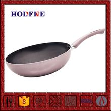 Manufactory Selling Nonstick with Soft handle Easy Cooking Ceramic Pang