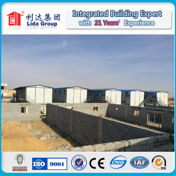 luxury Galvanized labor camp prefab house modular house and prefabricated house