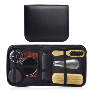 Leather care kit and shoe cleaner set in hot selling IKSP004