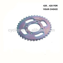 High Quality CD70 OEM motorcycle driving chain & sprocket kit Motorcycle Chain Kit & Motorcycle Sprocket Kit