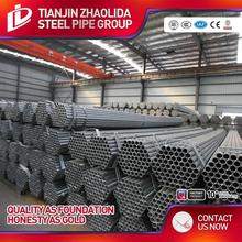 galvanized fire fighting thread steel pipe with threaded end