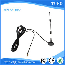 Top sell Wi-Fi 2.4GHz 7 DBI Booster Antenna SMA RP with Wireless Wlan