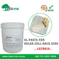 Crystalline Silicon Aluminum Paste Solar Power / PV / Electronic Aluminum Silver Paste