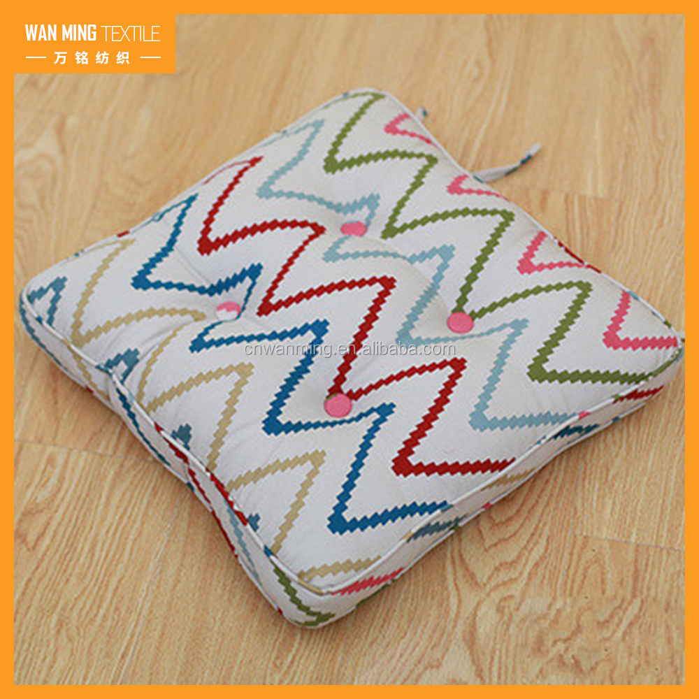 Custom Printed Fabric Outdoor Cushion New Design car seat cushion cover