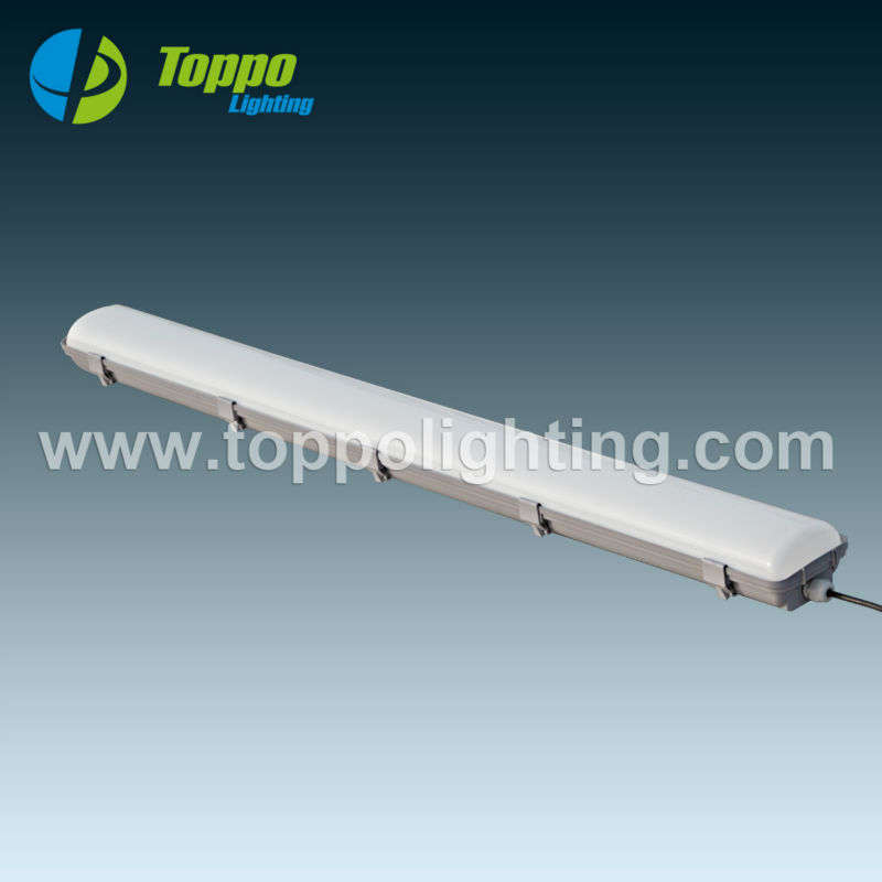 3000K -8000K 2-5ft LED Tri proof super thin UL 4ft 40w 50w linear vapor dust corrosion proof light fixture
