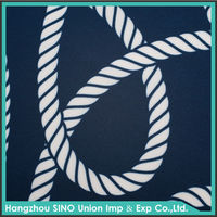 Wholesale 2015 newest pattern customize woven polyester chain print fabric