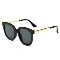 The latest version retro big frame plastic sunglasses