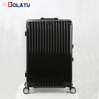 Low price ABS PC hard shell travel luggage sets light weight trolley luggage suitcase