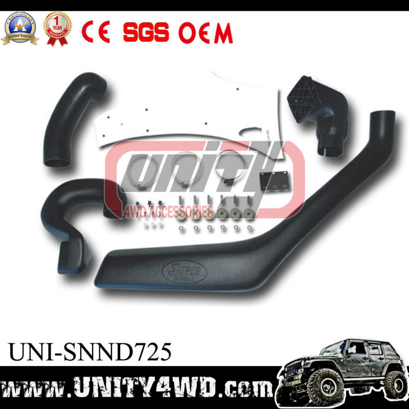 Snorkel accessories for Navara d22 with LLDPE of auto parts