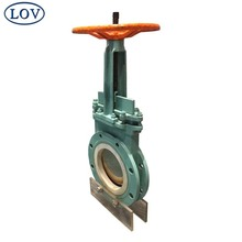 LOV Hand Wheel Water Gate Valve Flexible Wedge Rising Stem Gate Valve