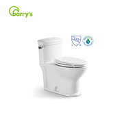 Chinese factory Ceramic Sanitary Ware Bathroom Design WC One Piece Toilets