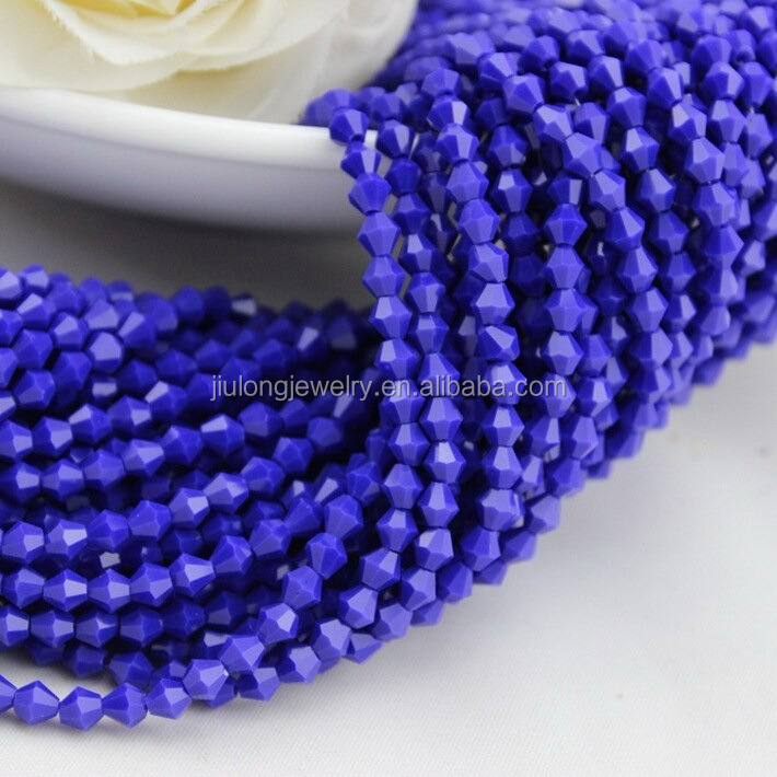Crystal Bicone Beads Glass Beads for Jewerly Making