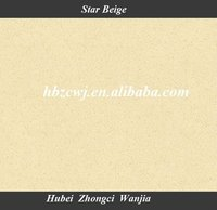 Star Beige / star headstone with good quality