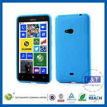 C&T Glossy cover gel soft rubber case for nokia lumia 625