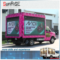 Led Mobile Advertising Trucks Mobile Truck For Roadshow Truck Mobile Advertising Led Display For Outdoor