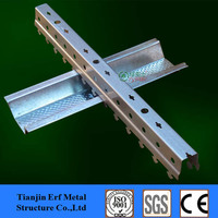metal stud and track building material,light weight steel c/z/u shape channel