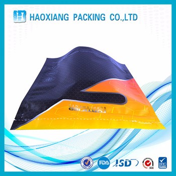 Stand up zipper bag packaging / high quality logo print plastic food package