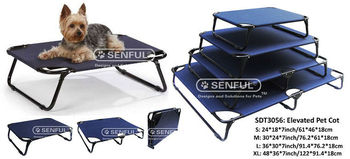 SDT3056 Foldable Steel Frame Strong Elevated Pet Cot