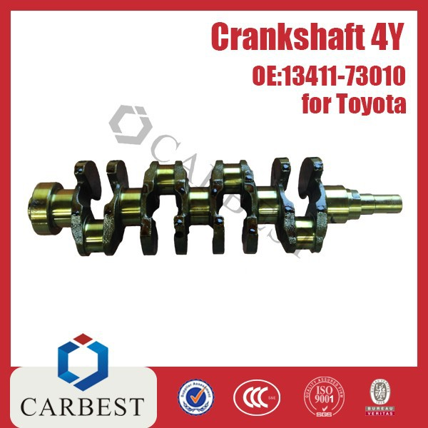 High Quality Engine Parts 4Y Crankshaft OE:13411-73010 For Toyota