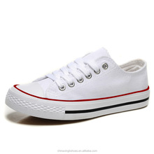 comfortable cheap casual hot china style white canvas shoes wholesale of women