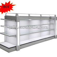 Supermarket Cosmetic Store Glass Display Shelf Stand